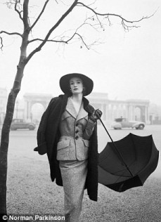Quality and England Wenda Parkinson by Norman Parkinson